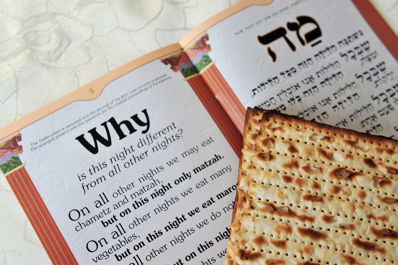 This is an image of Sassy 4 Questions Passover Printable