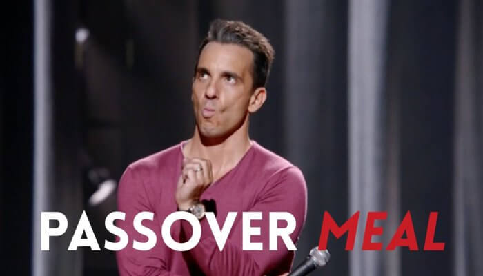 Passover Meal:  Aren't You Embarrassed